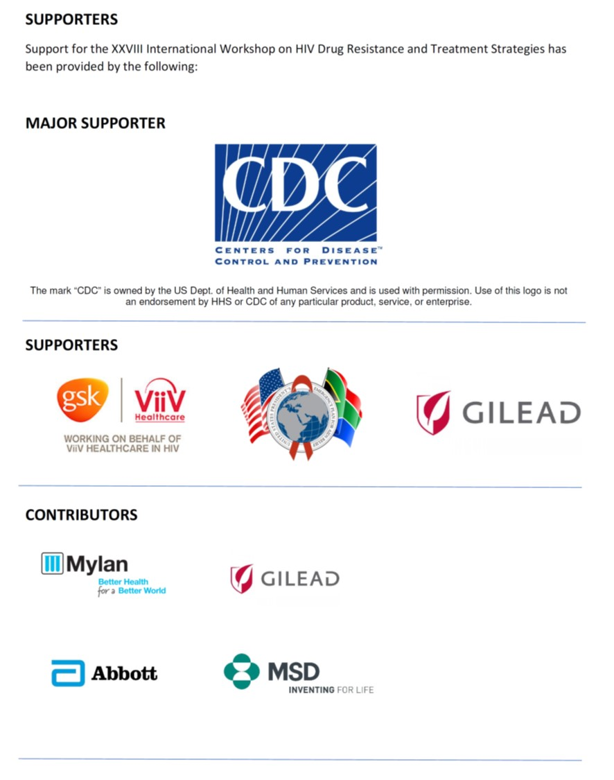 hivdr supporters 2019